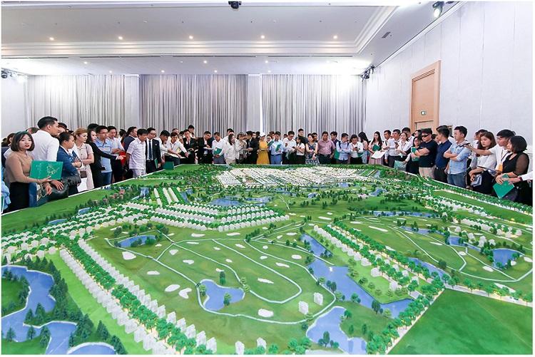 Sa bàn dự án Biên Hòa New city