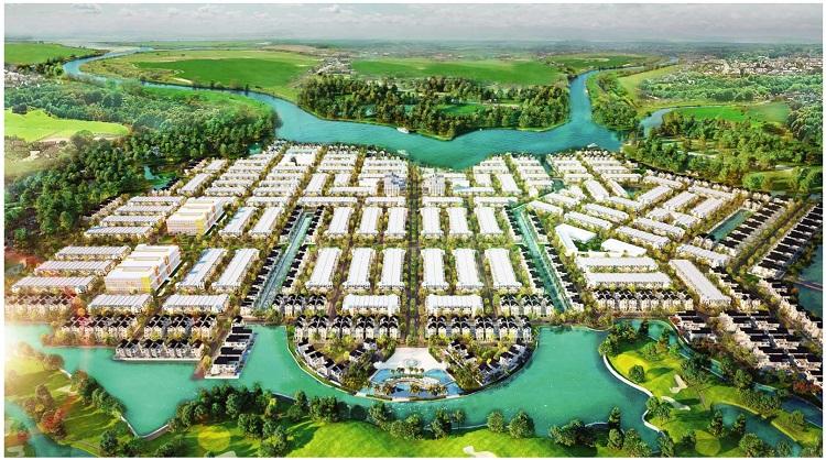 Phối cảnh dự án Biên Hòa New City