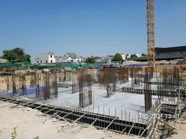 Cập nhật tiến độ dự án Biên Hòa Universe Complex vào quý I/2021