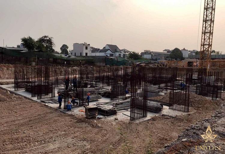 Cập nhật thêm tiến độ dự án vào tháng 03/2021