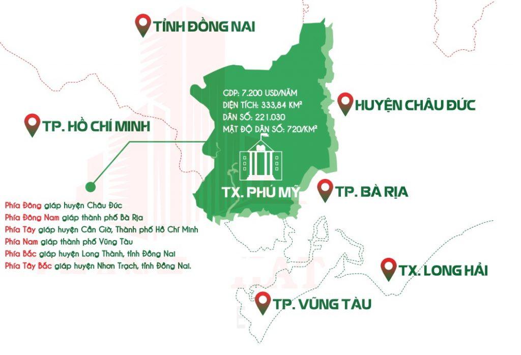 Quy hoạch vùng của Thị xã Phú Mỹ