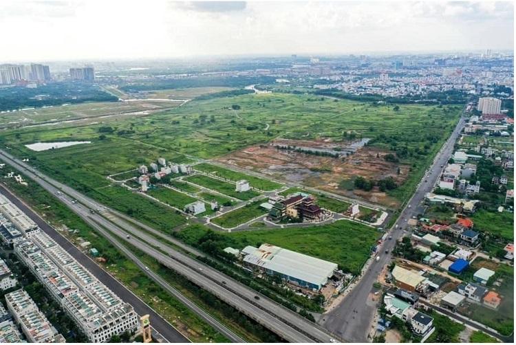 Một góc dự án Sài Gòn Bình An, Him Lam