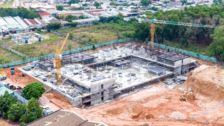 Công trường dự án Lavita Thuận An